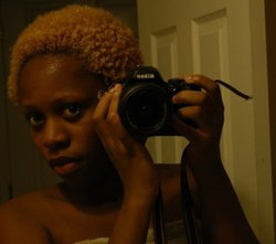 8 Months Natural Wet Hair - Blonde, Short hair styles, Afro, Readers, Female, Teen hair, Curly kinky hair, 4c hairstyle picture