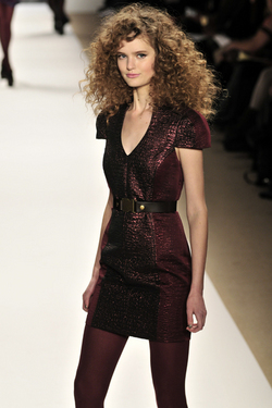 Tibi Fall 2010 - Courtesy of Runway Weekly - Brunette, 3b, 3a, Medium hair styles, Kinky hair, Long hair styles, Styles, Female, Curly hair, Teen hair, Adult hair hairstyle picture