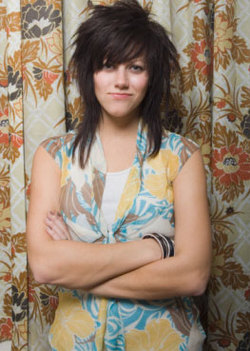 Scene/Emo  - Brunette, Long hair styles, Styles, Female, Adult hair, Straight hair, Scene hair, Emo hair hairstyle picture