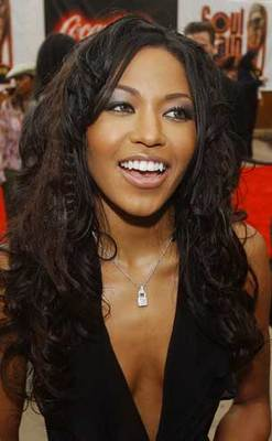 Amerie - Brunette, Celebrities, Wavy hair, Long hair styles hairstyle picture