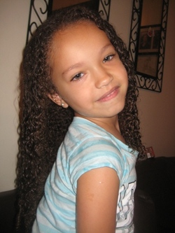 Naiya - Brunette, 3c, Medium hair styles, Kids hair, Readers, Female, Curly hair, Spiral curls hairstyle picture