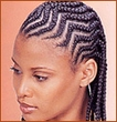 long zig zag cherokee - Cornrows