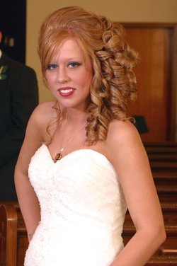 Wedding updo! - Redhead, Redhead, Long hair styles, Long hair styles, Long hair styles, Wedding hairstyles, Wedding hairstyles, Female, Adult hair, Adult hair, Adult hair hairstyle picture