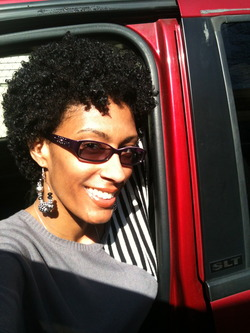 Wash & Go - Brunette, 3c, 4a, Mature hair, Very short hair styles, Short hair styles, Afro, Female, Black hair, Adult hair hairstyle picture