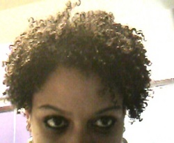 upclose pic of short crimpy curls - 3c, 4a, Short hair styles, Kinky hair, Curly kinky hair hairstyle picture