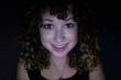 3b brunette curly bangs -