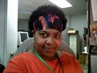 me on new years eve  work 2010 - Natural Hair Celebration