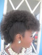 frolicious frohawk - Black hair