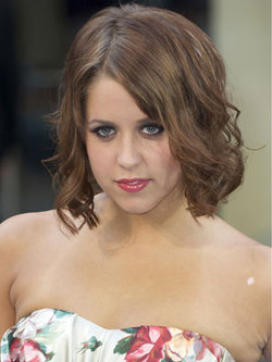 Peaches Geldof - Brunette, Celebrities, Wavy hair, Medium hair styles, Female hairstyle picture