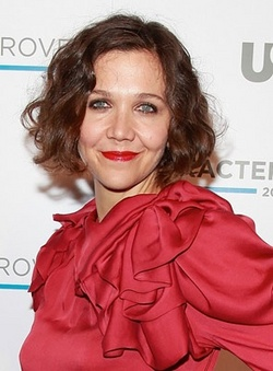 Maggie Gyllenhaal - Brunette, Celebrities, Wavy hair, Short hair styles, Medium hair styles, Female, Curly hair, Bob hairstyles hairstyle picture