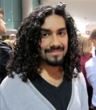 curly man at isse -