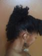 a banana clip twistout updo - Long hair styles