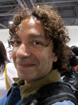 Curly man at ISSE - 3a, Male, Medium hair styles, Styles hairstyle picture