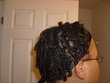 my 1st 2 strand twist - Short hair styles