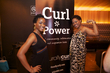 curl power at the curly pool party - Teeny weeny afro