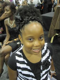 mizanibraids.jpg - 4a, Kids hair, Updos, Kinky hair, Braids, Afro, Styles, Female, Black hair, Formal hairstyles, Kinky twists, Afro puff, Natural Hair Celebration, Textured Tales from the Street hairstyle picture