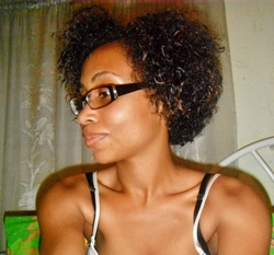Curly fro - 3b, Short hair styles, Female hairstyle picture