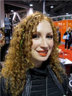 International Salon and Spa Expo 2011 - Redhead, Medium hair styles, Long hair styles, Female, Curly hair, Adult hair, Textured Tales from the Street hairstyle picture