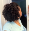 flat twist twist out - Brunette