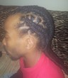 double barrel loc style - Medium hair styles