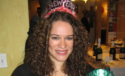 Ringlet-ing in 2010! - Brunette, 3b, 3a, Medium hair styles, Readers, Female, Curly hair, Holiday Party Curls, Adult hair hairstyle picture
