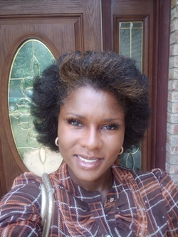 enjoying my natural hair - Short hair styles, Kinky hair, Readers, Female, Black hair, Adult hair hairstyle picture