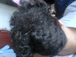 french braid bantu knot out updo - 4b