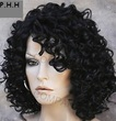 power house hair protecter wigs - black hair