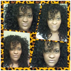 Big Curls! - 3b, Medium hair styles, Long hair styles, Readers, Female, Makeovers, Black hair, Adult hair hairstyle picture