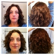devacut on 2c 3a hair - brunette