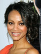 zoe saldana - Wedding hairstyles