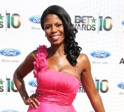 Omarosa  - Celebrities, Kinky hair, Kinky hair, Long hair styles, Long hair styles, Female, Female, Black hair, Black hair, Spiral curls, Spiral curls hairstyle picture