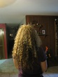 back of head - Curly hair
