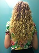 good back curls - Blonde