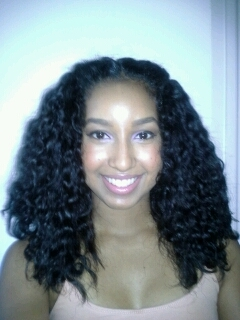 My braid out - 3b, 3c, Medium hair styles, Female, Black hair, Adult hair, Braid out hairstyle picture