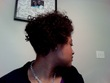 bantu knot out updo - 4b