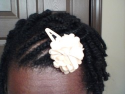 2Strand Twist in an Up Do - Short hair styles, Kinky hair, Readers, Female, Black hair, Adult hair hairstyle picture