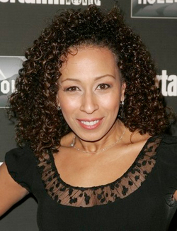 Tamara Tunie - Brunette, 3b, Celebrities, Medium hair styles, Female, Curly hair hairstyle picture