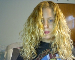 curls!! - Blonde, 3a, Medium hair styles, Long hair styles, Readers, Female, Curly hair, Adult hair hairstyle picture