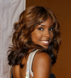 Kelly Rowland - Brunette, Celebrities, Medium hair styles, Kinky hair, Female hairstyle picture