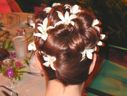 My Kauai wedding work-of-art hair! - Wedding hairstyles, Readers hairstyle picture