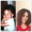 then now - Curly hair, 3a, 3b