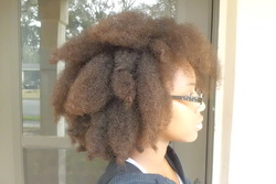 MyHumidHairdo - Brunette, 4b, Mature hair, Male, Kids hair, Long hair styles, Readers, Female, Teen hair, Adult hair, Bantu knot out, Twist out, Braid out hairstyle picture