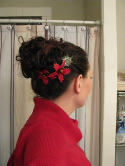 my Christmas 'do - Readers, 2010 Holiday Photos hairstyle picture