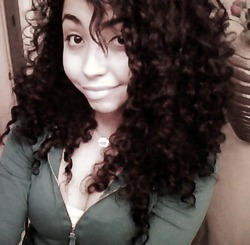 My Curly Hair - 3c, Long hair styles, Readers, Styles, Female, Curly hair, Teen hair, Black hair hairstyle picture