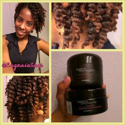 Twist Out Using the PL Method -  hairstyle picture