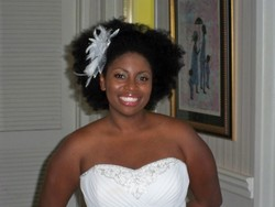 Dressy Fro! - Wedding hairstyles, Readers hairstyle picture