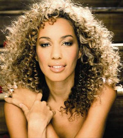 Leona Lewis - Brunette, 3b, Celebrities, Long hair styles, Styles, Female, Curly hair, Adult hair hairstyle picture