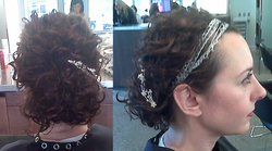 Curly Updo - Readers, Holiday Party Curls hairstyle picture