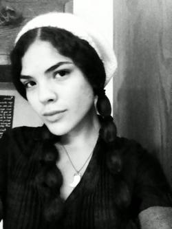 Mary&#45;Annalee braids &#40;aka Native American Braids&#41; - Brunette, Medium hair styles, Kinky hair, Long hair styles, Braids, Curly hair, Teen hair, Black hair, Ponytail, Pigtails, Curly kinky hair hairstyle picture